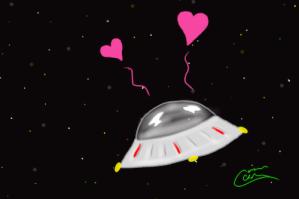 Cute Spaceship