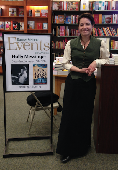 Author Holly Messinger at a Signing