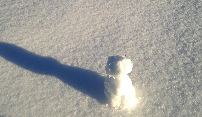Teeny Snowperson