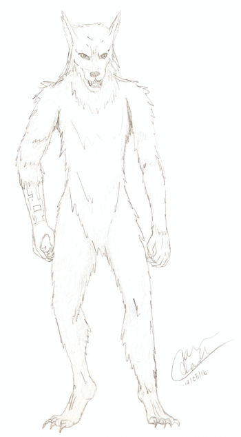 Cyborg Werewolf