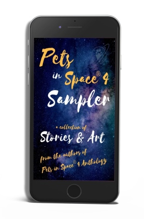 pets in space 4 sampler phone